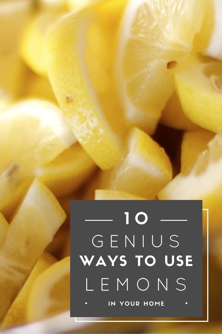 10 Genius DIY Ways to Use Lemons in Your Home