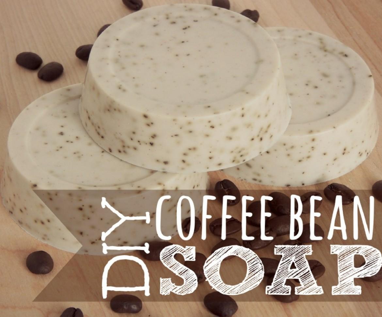 DIY Coffee Bean Soap
