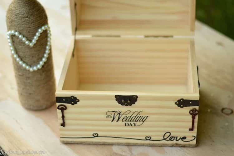 DIY wedding cardbox 1