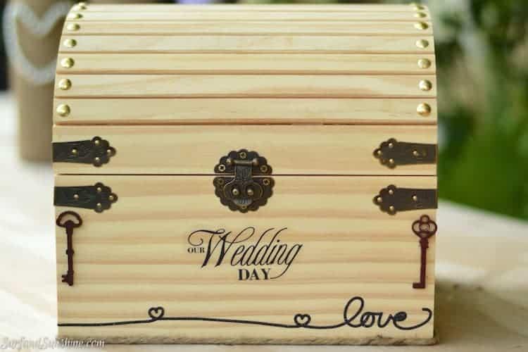 DIY wedding cardbox 2