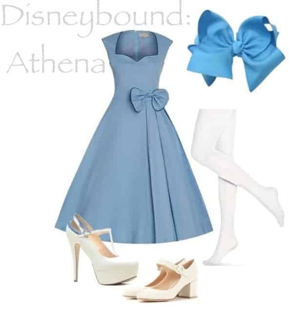 Disneybound Athena