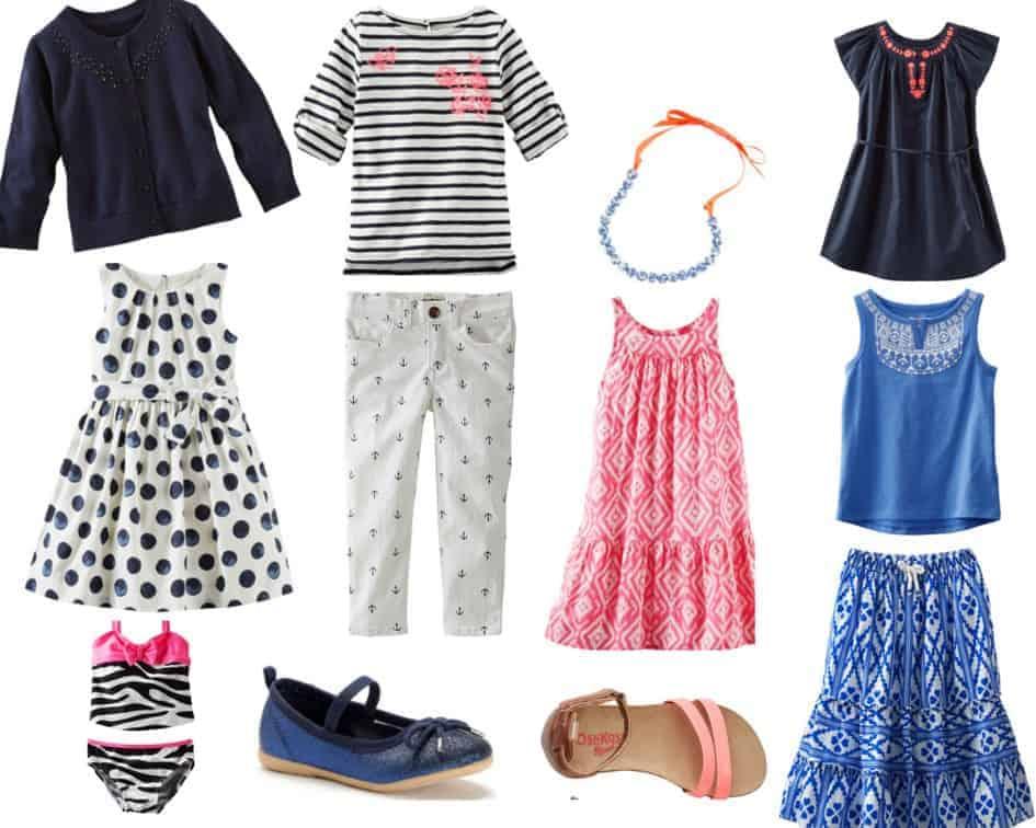 OshKosh Spring Wardrobe