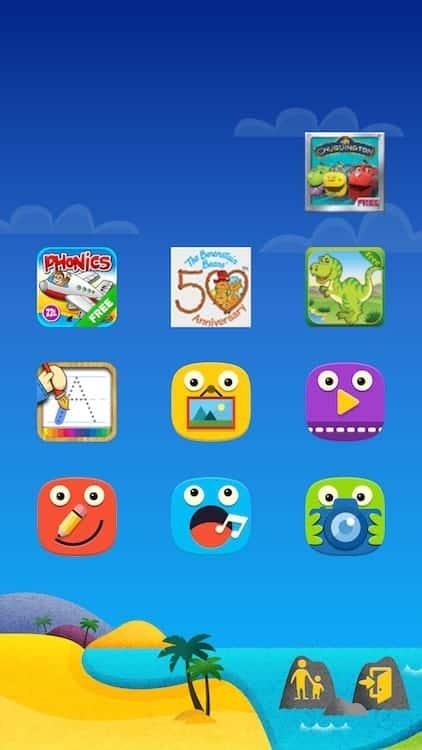 Samsung Galaxy S5 Kids Mode 2