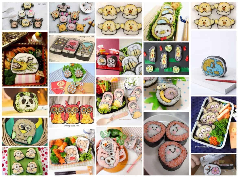 sushi art recipes