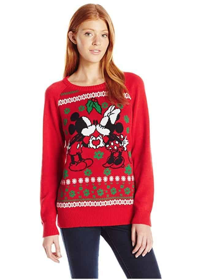 best ugly christmas sweaters minnie and mickey mouse