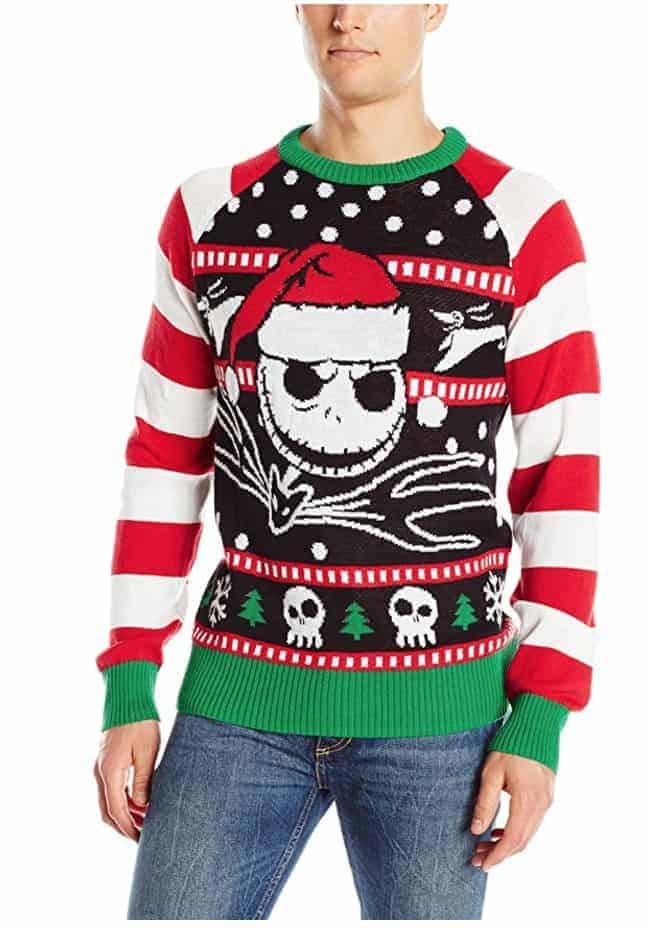best ugly christmas sweaters jack skellington