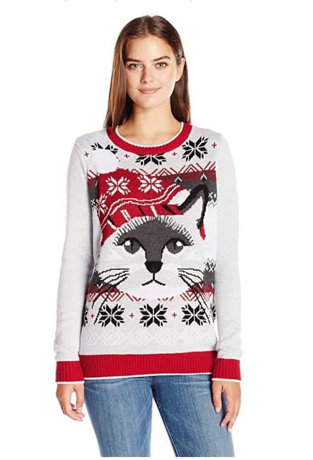 best ugly christmas sweaters cat kitten