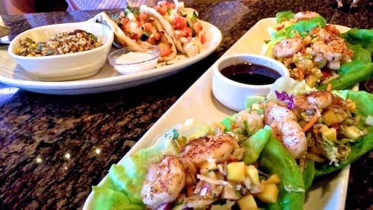 bjs thai shrimp lettuce wraps (2)