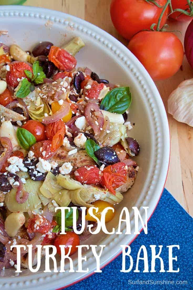mediterranean turkey recipe