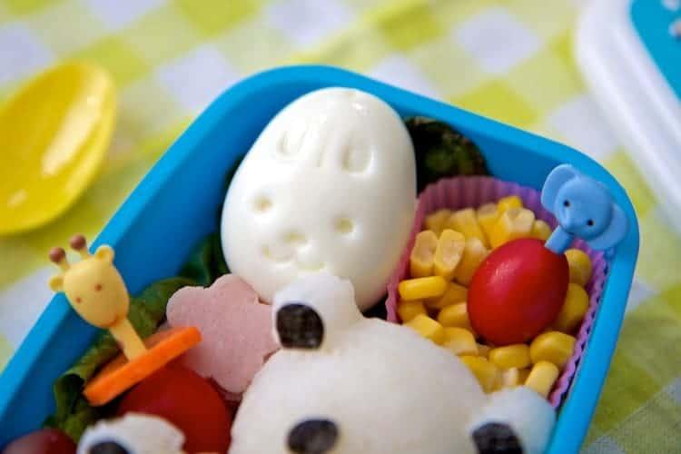 panda rice balls bento box lunch 7