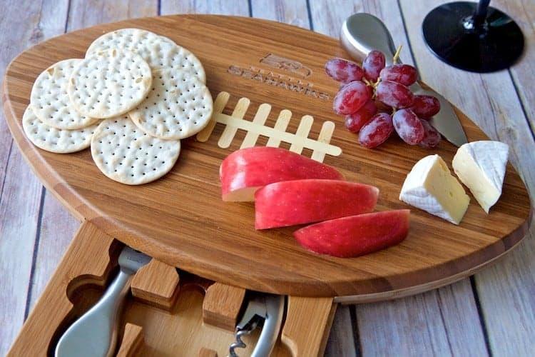 seahawks cheese board