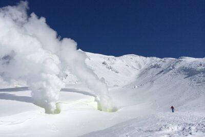 Hokkaido, Japan Skiing
