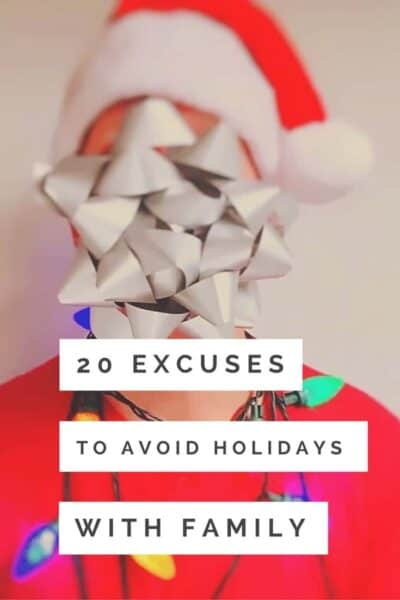 20 excuses