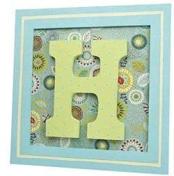 monogram frame