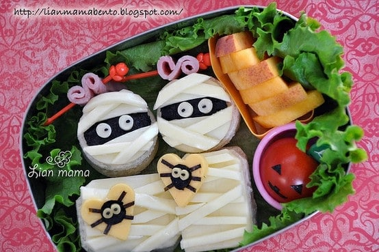 5 of the most adorable halloween bento box ideas ever - Quince recipes for babies a healthy fall ...