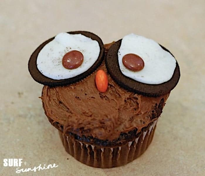 owl cupcake recipe - {Halloween Recipe} Owl Cupcakes
