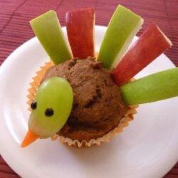 {Recipe} Kids DIY Thanksgiving Turkey Muffins