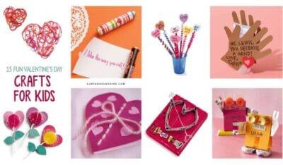 15 valenties crafts for kids custom