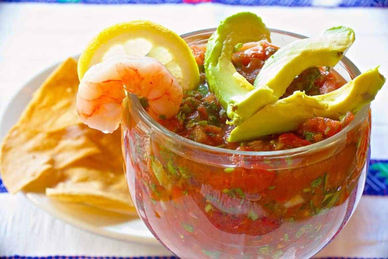 Mexican Shrimp Cocktail 884