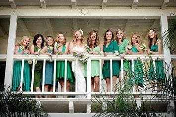 Mismatched Bridesmaids Dresses 5