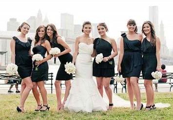 Unmatched Bridesmaids Dresses