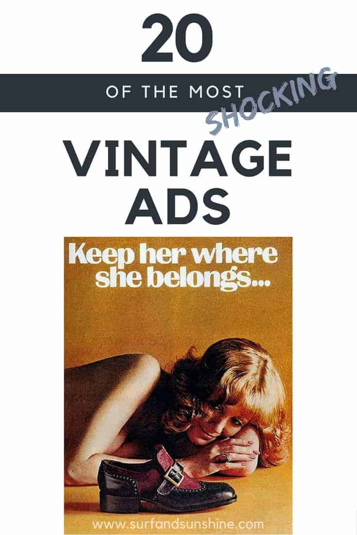 shocking vintage ads