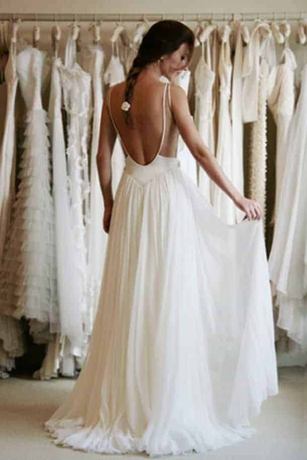 19 - Wanda Borges Wedding Dresses: Open Back or Backless Gowns