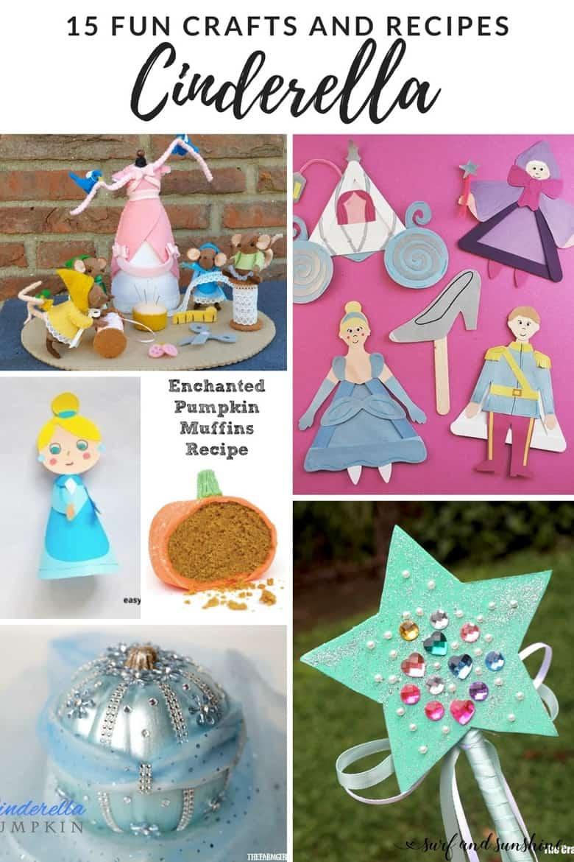 cinderella crafts and recipes PIN