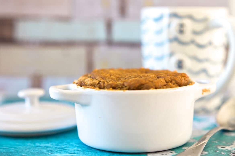 pumpkin spice cake in a mug recipe 9