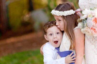 Flower Girl & Ring Bearer Photo Ideas
