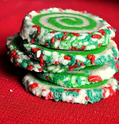 swirl christmas cookies