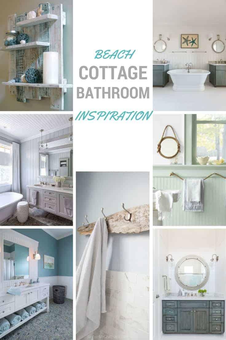 Beach Cottage Bathroom Inspiration