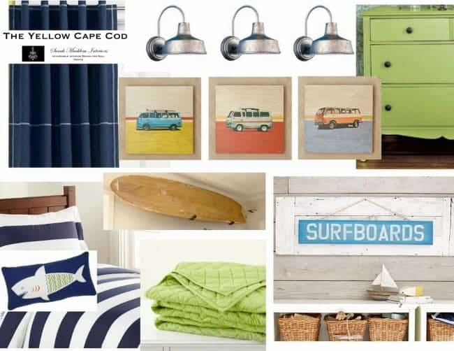 Surfboard Decor Inspiration & A Giveaway