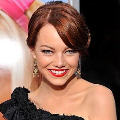 Emma Stone Red Lips