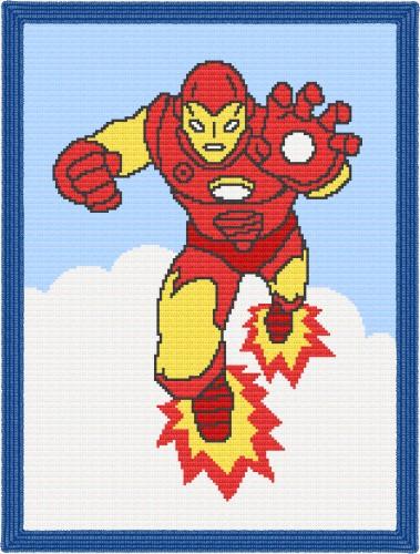 Iron Man Crochet Pattern