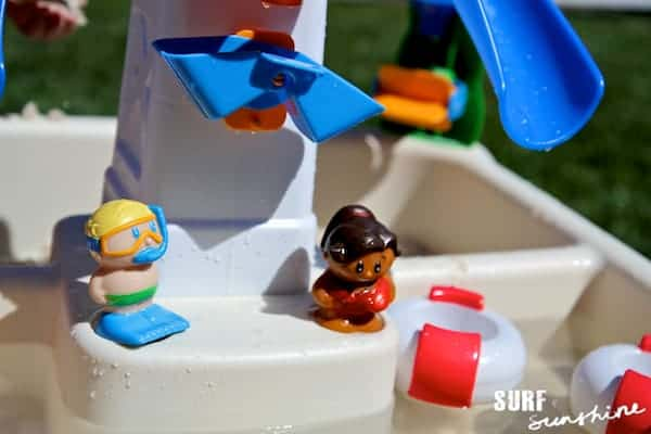 little tikes sandy lagoon waterpark review