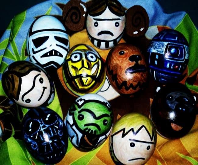 Star Wars Inspired Easter Eggs