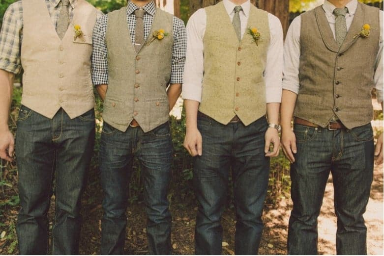 Stylish and Trendy Groomsmen Attire