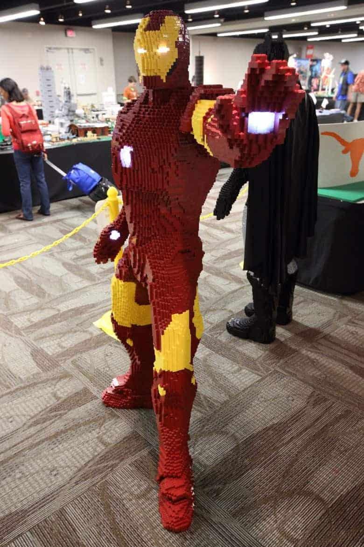 Iron Man Lego Build