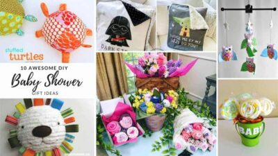 Adorable DIY Baby Shower Gifts