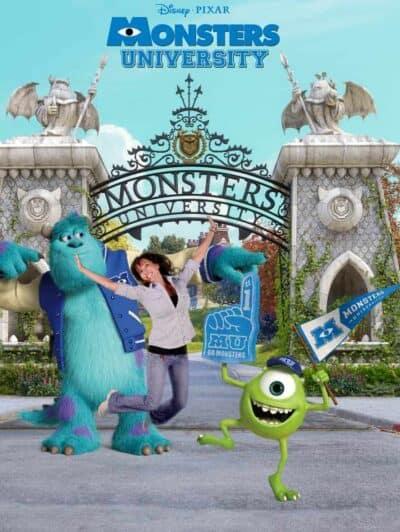 Monsters University Jumping