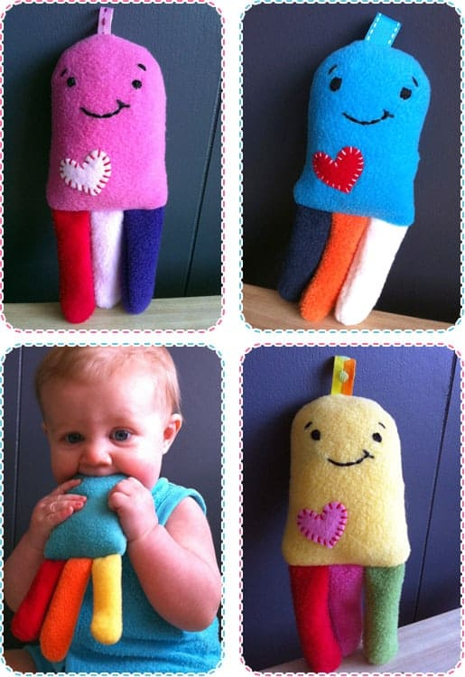 DIY Baby Crunchy Toy