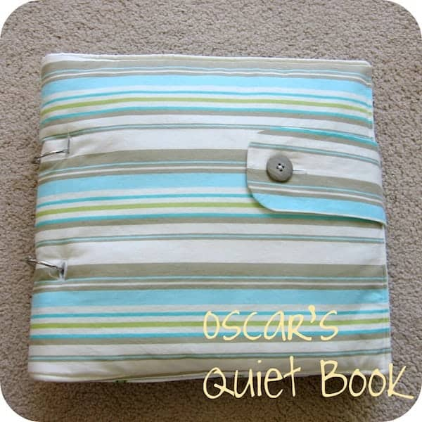 DIY Baby Quiet Book