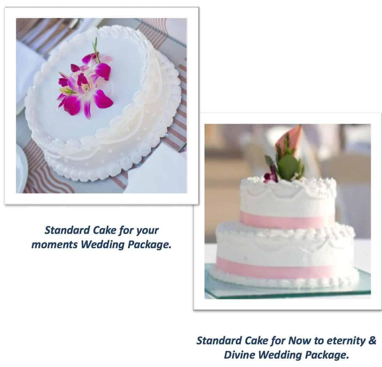 now amber wedding cake options