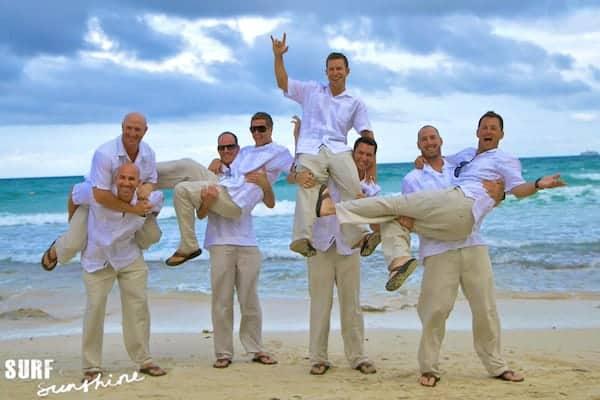 wedding party photos 1