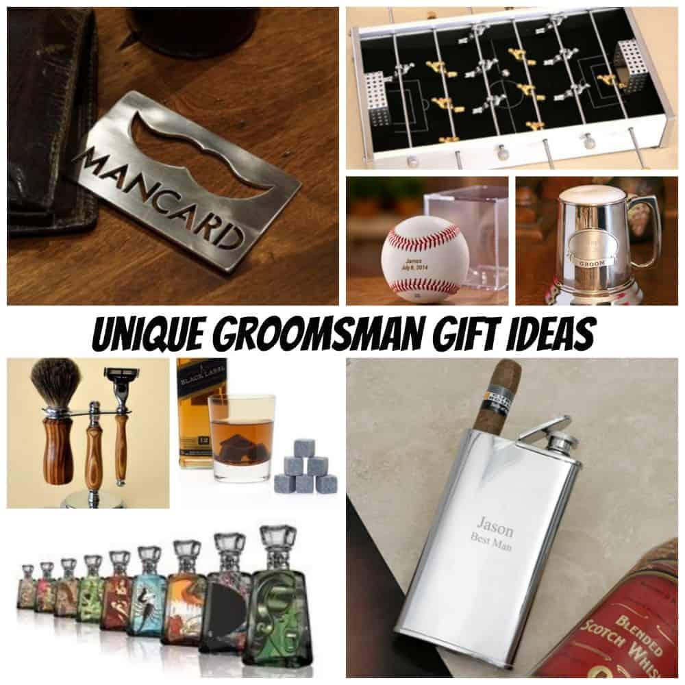 unique groomsman gift ideas