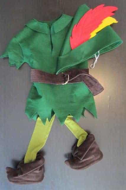 DIY Peter Pan Costume - Via Staying Steyn