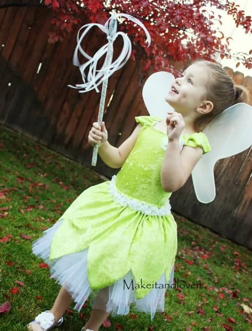 DIY Tinker Bell Costume Via Makeit-Loveit