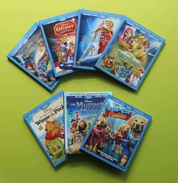 Fall 2013 Disney DVD Lineup