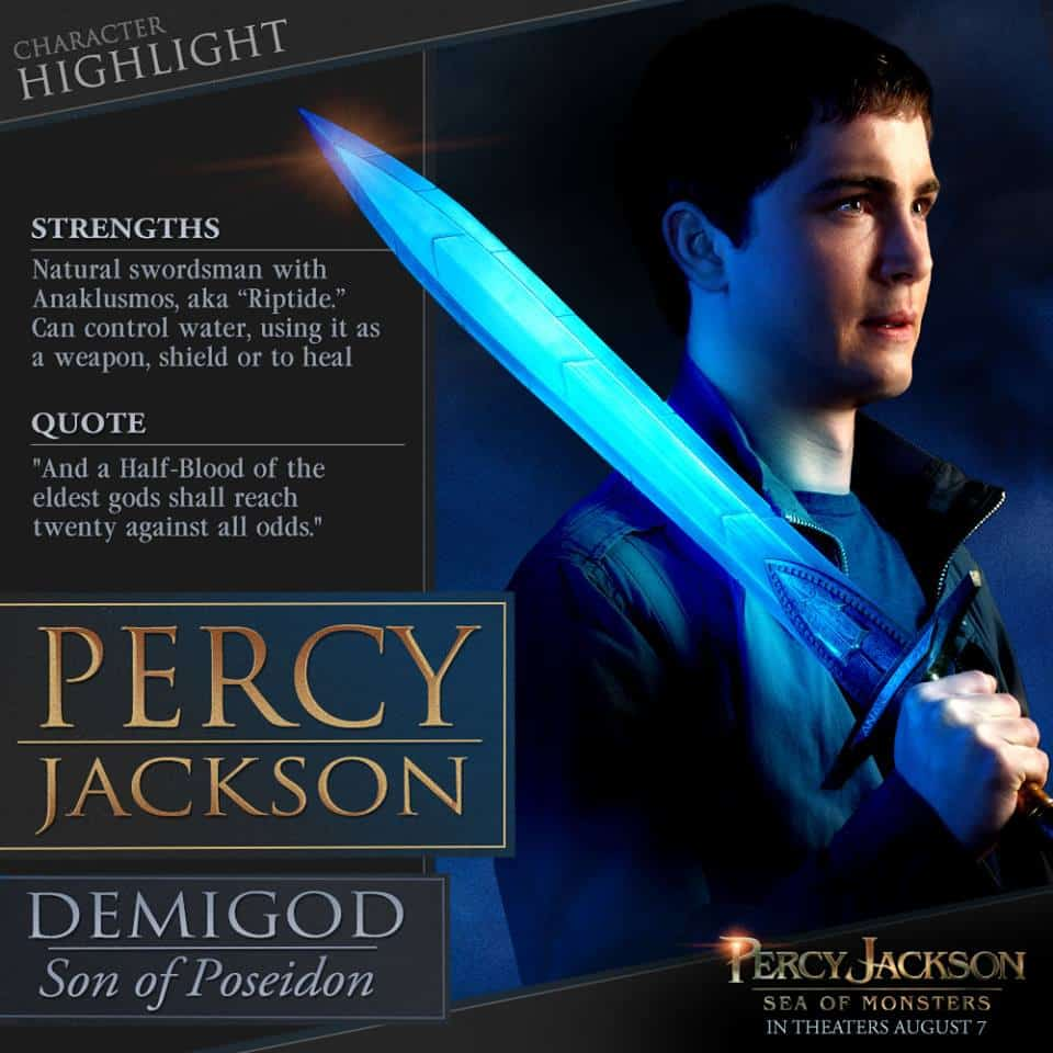 Percy Jackson Sea of Monsters Bio